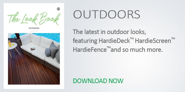 James Hardie Look Book Outdoor