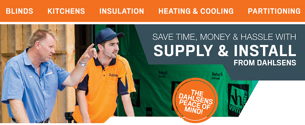 Supply and Install from Dahlsens
