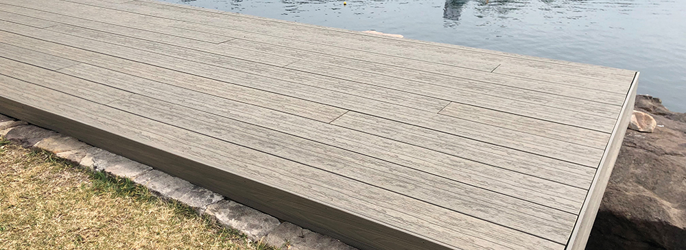 Timber decking from Dahlsens