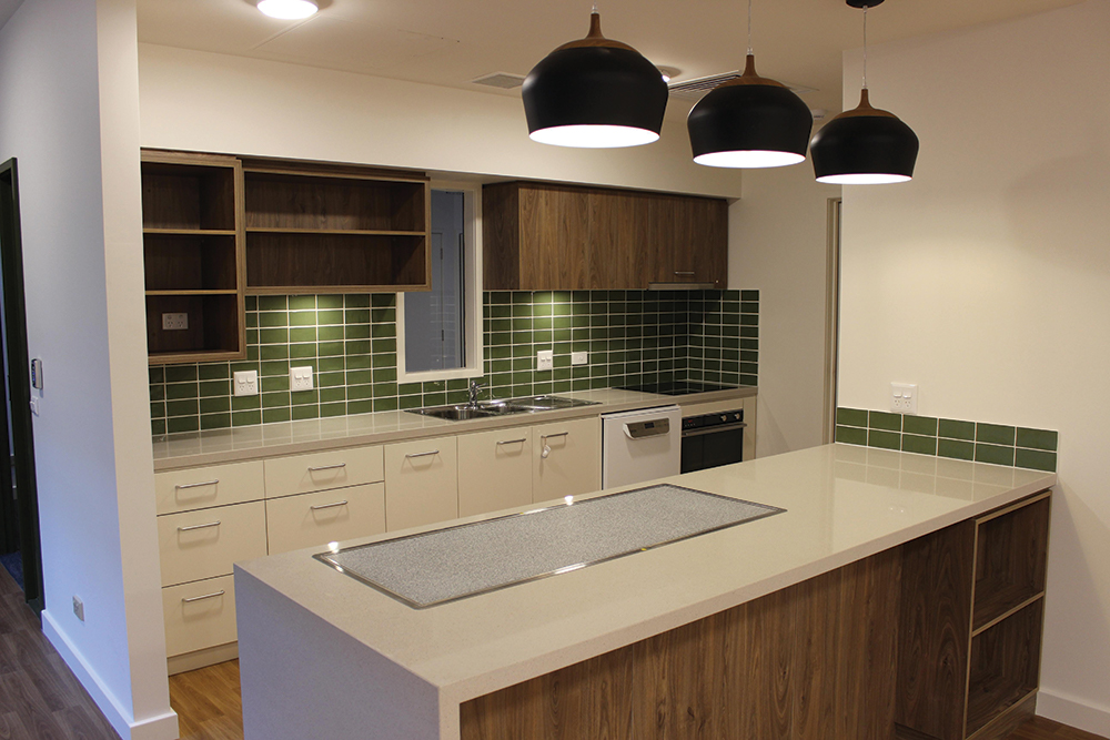 Dalkeith Hostel Kitchen Build