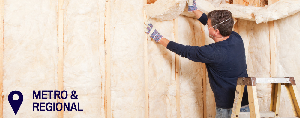 Insulation supply and install