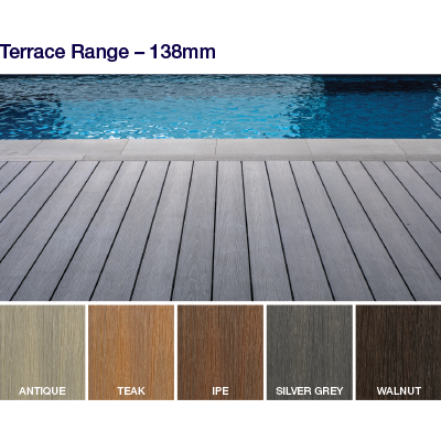 The NewTechWood deck range