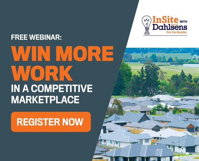 Free Webinar: How to win more work in a competitive marketplace