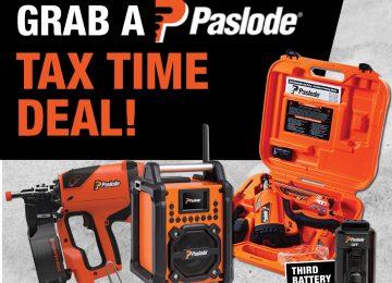 Paslode Tax Time Deals!