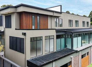 Trend-setting development is unparalleled with modern cladding